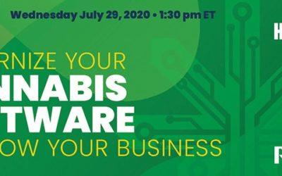 Moderniser cannabis-programvaren din for å utvide virksomheten din