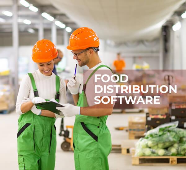 Programvare for mat og distribusjon