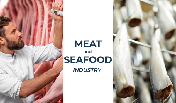 Kjøtt- og sjømatløsninger